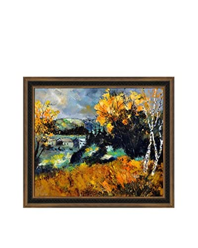 Pol Ledent Autumn In Ardennes 672101 Framed Canvas Print