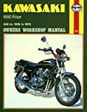 Haynes Manual for Kawasaki 650 Four (76 - 78) Including an AA Microfibre Magic Mitt