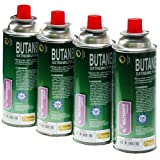 MAY4 X 250G BUTANE GAS CANISTERS FOR KF3000 KF3005