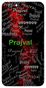 Prajval (Brightness) Name & Sign Printed All over customize & Personalized!! Protective back cover for your Smart Phone : Samsung Galaxy S4mini / i9190