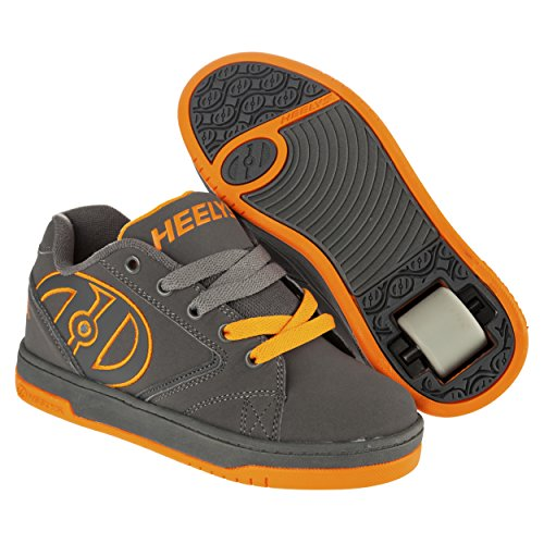 Heelys Propel 2.0 / 2015 / Grey/Grey/Orange, Schuhgröße:38