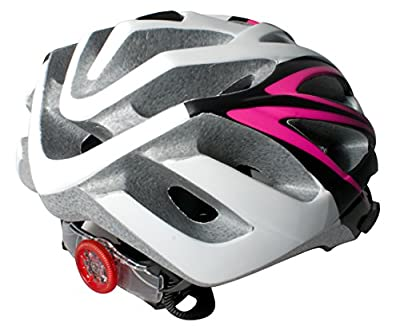 Claud Butler Regina Ladies Womens Cycling Cycle Helmet - Black/Pink by Claud Butler