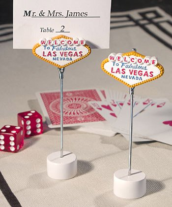 Las Vegas Wedding Placecard Holders, 30