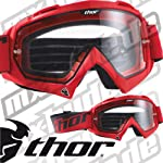 Thor Enemy Solid Brille - rot