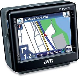 JVC eAvinu KVPX9B 3.5-Inch Portable GPS Navigator
