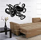 Removable Octopus Sea Ocean Fish Wall Mural Vinyl Decal Sticker Kid Room Decor 22