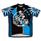 Skeleton Biker Short Sleeve Cycling Jersey