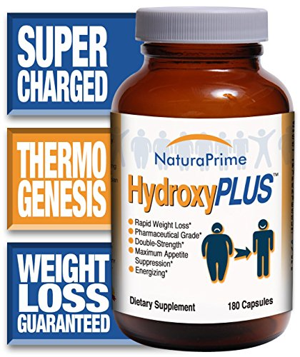 HydroxyPLUS – Rapid Weight Loss – No Jitters – Energized! – 180 Capsules – GUARANTEED!
