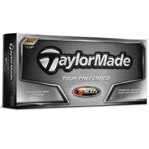 TaylorMade TP Black '08 Golf Balls