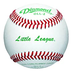 Buy Diamond Little League Competition Grade Baseball, Dozen by Diamond Sports