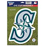 Seattle Mariners Official Logo 6x9 Die Cut Magnet Amazon.com