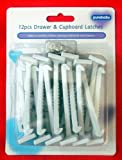 Pack of 12 DRAWER CUPBOARD SAFETY LATCHES
