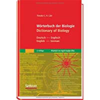 Wörterbuch der Biologie/Dictionary of