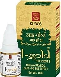 Kudos I-Gold Eye Drop-Helpful in Eye Diseases 15ml*3