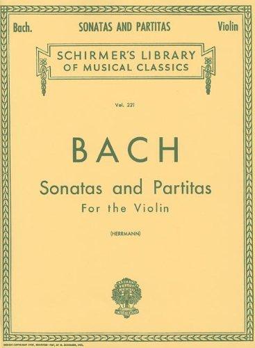 Sonatas and Partitas: Violin Solo (Schirmer's Library of Musical Classics) (Sheet Music Violin compare prices)