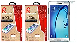 Raydenhy Pack of 2 (2 PCS) 2.5D Curved Edges 0.33MM Thickness Tempered Glass For Samsung Galaxy On5 (G550F)