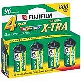 Fujifilm Superia 800 Speed 24 Exposure 35mm Film - 4 Pack
