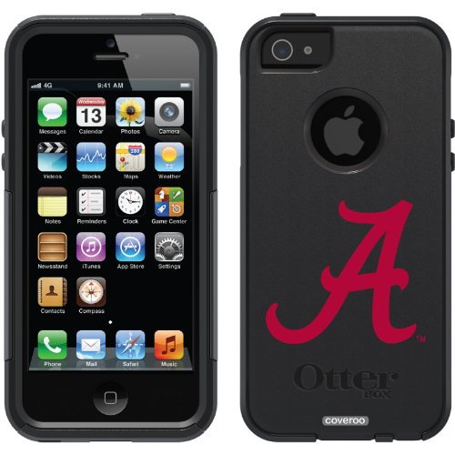Great Sale University of Alabama - A design on a Black OtterBox® Commuter Series® Case for iPhone 5s / 5
