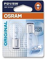 OSRAM Original 12V P21/5W lampes halogènes auxiliaires 7528-02B en double blister