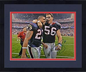 Framed Signed Brian Cushing Houston Texans Photo - 16x20 Witness - JSA Certified -... by Sports Memorabilia