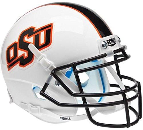 OKLAHOMA STATE COWBOYS MINI Football Helmet OSU (ALTERNATE WHITE/STRIPES) (Football Helmet Stripes compare prices)