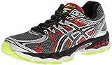 ASICS Mens Gel-Nimbus 16 4E Running Shoe,Titanium/Black/Red,13 4E US