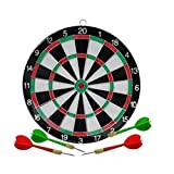 DIXON DART BOARD WOODEN SMALL