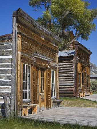 Bannack State Park Ghost Town, Dillon, Montana by Richard Cummins