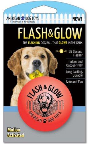 Flash & Glow, Flashing Glowing Dog Ball