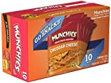 Munchies Snack Crackers Cheddar Cheese, 12.2 oz (6 Boxes of 10)
