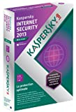 Kaspersky internet security 2013 - mise � jour (3 postes, 1 an)