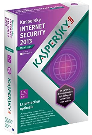 Kaspersky internet security 2013 - mise à jour (3 postes, 1 an)