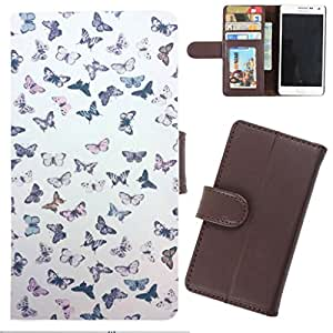 DooDa - For Karbonn A1 + PU Leather Designer Fashionable Fancy Wallet Flip Case Cover Pouch With Card, ID & Cash Slots And Smooth Inner Velvet With Strong Magnetic Lock