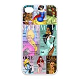 Disney Princess On Vogue Custom TPU Case For Iphone 4 4s