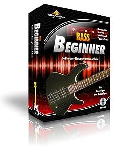 Bass Beginner - Bass lernen am Computer [CD-ROM] Windows