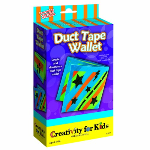 Creativity For Kids Duct Tape Wallet - 1