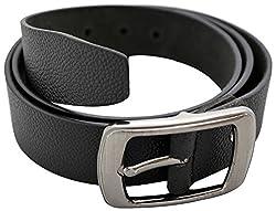URBAN DISENO Men's Belt (Ud-belt-12_Small, Black, Small)