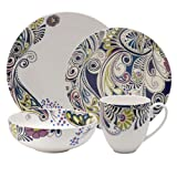 Denby Sixteen Piece 'Monsoon Cosmic' Dinnerware Set From Debenhams