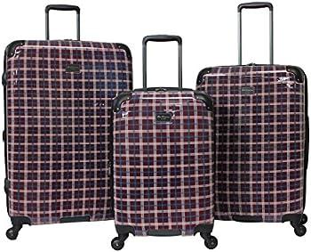 Ben Sherman 3-Pc Hardise Spinner Luggage Set