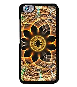 Fuson Premium 2D Back Case Cover Animated Pattern With Multi Background Degined For Micromax Canvas Fire 4 A107