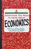 Everything You Need To Know About Economics (The Pocket Professor)