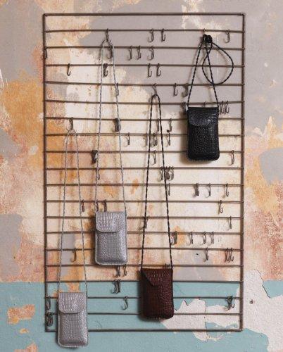 broste Copenhagen - Vintage Wandleiste mit Haken - Metall