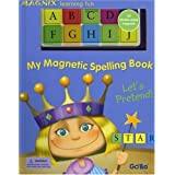 My Magnetic Spelling Book Let's Pretend! with Magnetic Letters (Gobo Magnix Learning Fun)