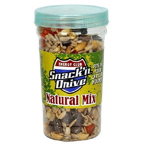 Buy Energy Club Snack 'n Drive Cups, Natural Trail Mix (Pack of 12) (Energy Club, Health & Personal Care, Products, Food & Snacks, Snacks Cookies & Candy, Snack Food, Trail Mix)