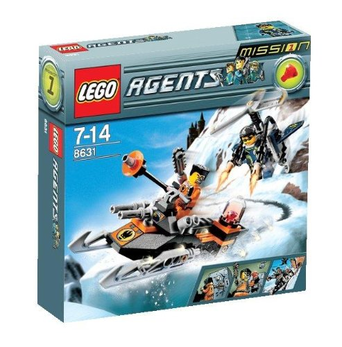 LEGO Agents 8631: Mission 1: Jetpack Pursuit