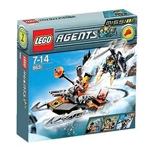 LEGO Agents 8631: Mission 1: Jetpack Pursuit