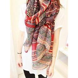New 2014 Lady Women Blanket Oversized Tartan Scarf Wrap Shawl Plaid Cozy Checked