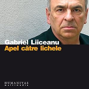 Apel catre lichele Audiobook