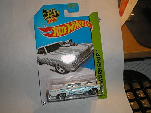 2014 Hot Wheels Hw Workshop 233/250 - '64 Chevy Chevelle SS - White - 1