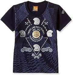 Little Kangaroos Baby Boys' T-Shirt (11052_Navy_2 year)
